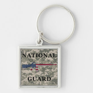 Porte-clés ACU de porte - clé de la garde nationale M16
