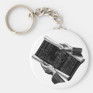 Porte-clés Affaires vintages, modèles architecturaux des