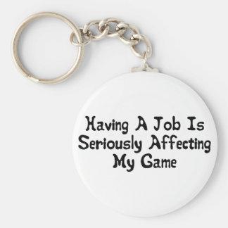 Porte-clés Affectation de mon jeu