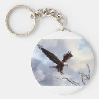 Porte-clés aigle chauve