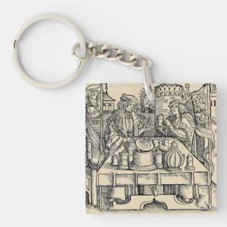 Porte-clés Alchimiste royal dans le château