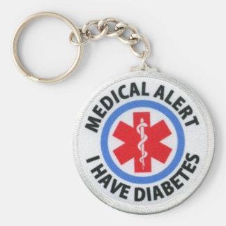 Porte-clés Alerte diabétique
