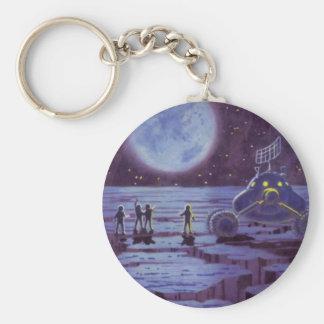 Porte-clés Aliens vintages de Rover de la terre de la