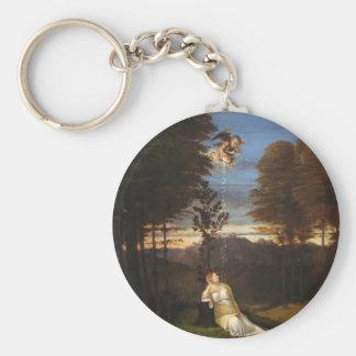 Porte-clés Allégorie de chasteté par Lorenzo Lotto
