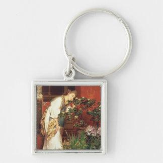 Porte-clés Alma-Tadema   dans le Peristylum, 1866
