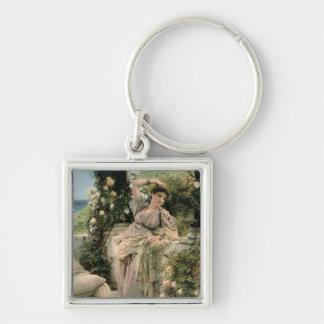 """Porte-clés Alma-Tadema rose de mille de   """"de tous les roses,"""