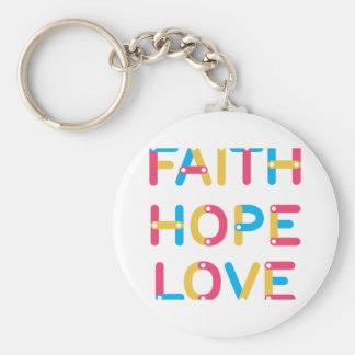 Porte-clés amour 2 d'espoir de foi