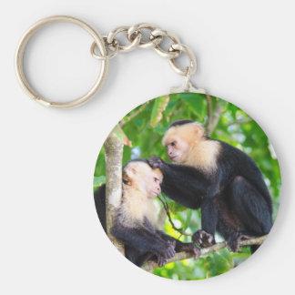 Porte-clés Amour de singe