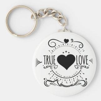 Porte-clés amour vrai