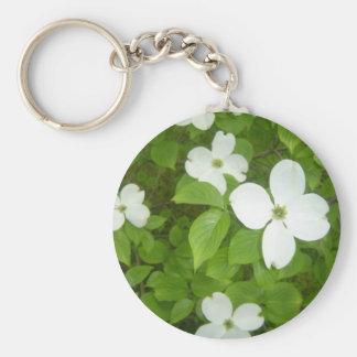 Porte-clés Arbre de cornouiller de floraison