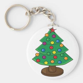 Porte-clés Arbre de Noël à trois niveaux