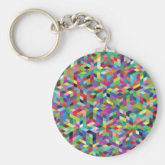 Porte-clés arrière - plan coloré