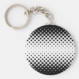 Porte-clés Arrière - plan de trous noirs