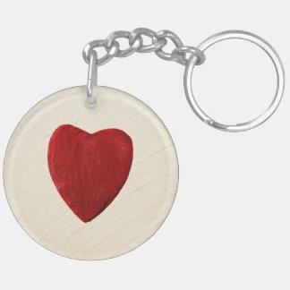 Porte-clés Arrière-plan ébarber coeur