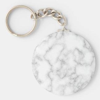 Porte-clés Arrière - plan en pierre marbré de marbre de blanc