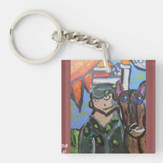 Porte-clés Art 4 des Etats-Unis