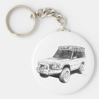 Porte-clés Art de porte - clé de Land Rover