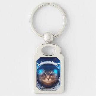 Porte-clés Astronaute de chat - chats dans l'espace -