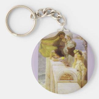 Porte-clés Au berceau de l'Aphrodite par monsieur Lawrence