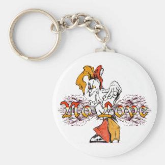 Porte-clés Aucune orange d'or de Brown d'amour (porte - clé)