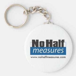 Porte-clés Aucunes demi de mesures - porte - clé