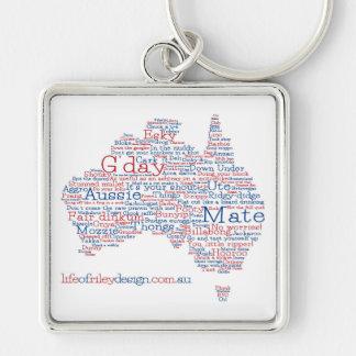 Porte-clés australien d'argot d'Edition spéciale