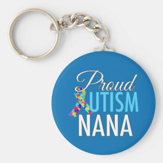 Porte-clés Autisme fier Nana