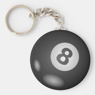 Porte-clés Autour de 8 porte - clés de boule
