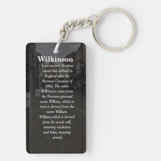 Porte-clés avec la signification et la crête de