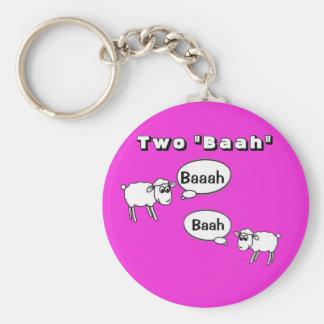 Porte-clés Baah du Tuba deux !