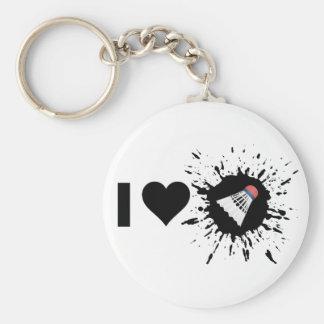 Porte-clés Badminton d'amour de l'explosif I