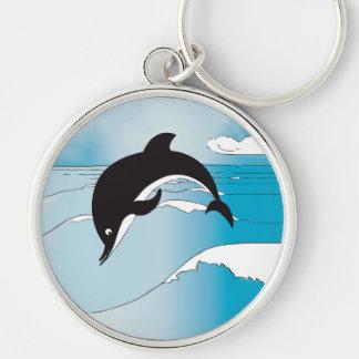 Porte-clés Bain avec des dauphins