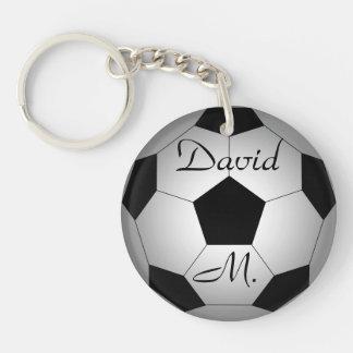 Porte-clés Ballon de football, personnalisé