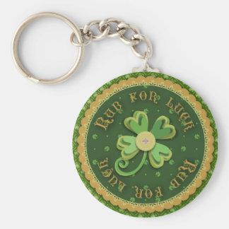 Porte-clés Bande de frottement pour le porte - clé de chance