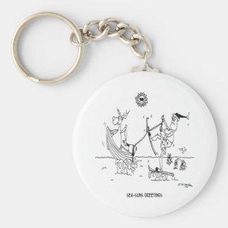 Porte-clés Bande dessinée 6193 de Père Noël