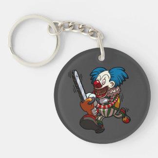 Porte-clés Bande dessinée colorée d'horreur de Halloween de