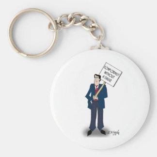 Porte-clés Bande dessinée conformiste 9367