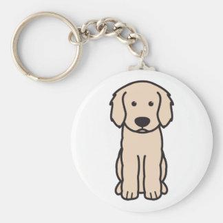 Porte-clés Bande dessinée de chien de Labradoodle