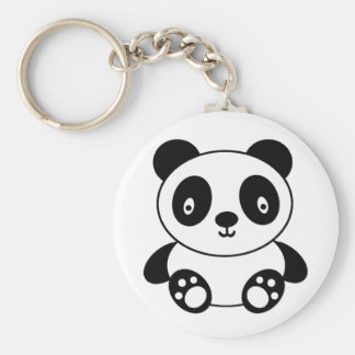 Porte-clés Bande dessinée mignonne de panda