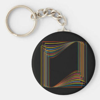 Porte-clés Bannière colorée