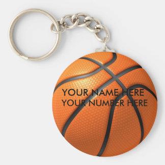 Porte-clés Basket-ball de porte - clé avec votre nom, votre