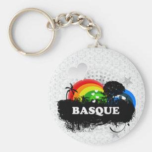 Porte-clés Basque fruité mignon