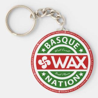 Porte-clés Basque wax for surfers