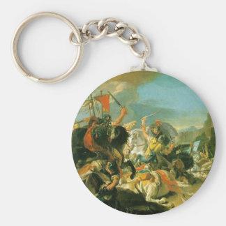 Porte-clés Bataille de Vercellae par Giovanni Battista