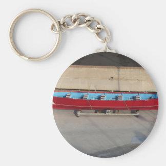Porte-clés Bateau d'emballage en bois avec dix sièges