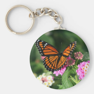 Porte-clés Beau papillon de monarque