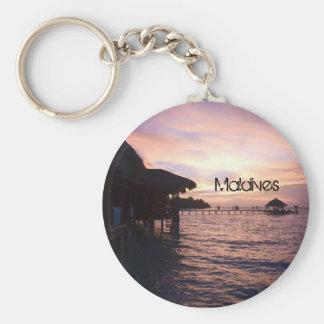 Porte-clés Beau porte - clé de plage des Maldives