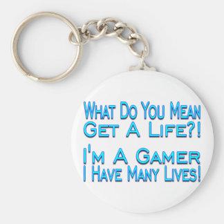 Porte-clés Beaucoup de vies