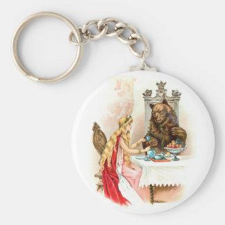 Porte-clés Beauté et le porte - clé de bête