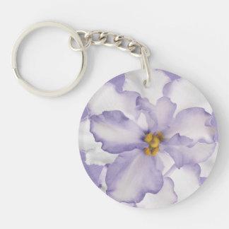 Porte-clés Belle orchidée de lavande
